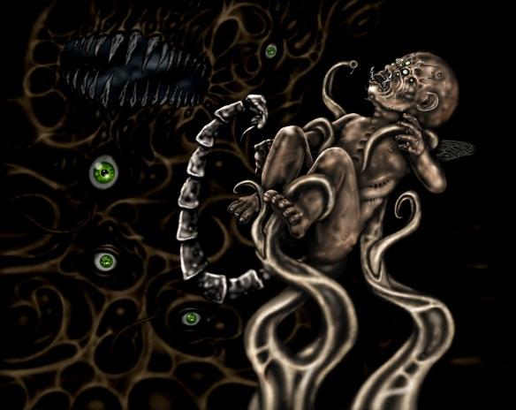"CD art: ""Mutagenesis"" by T.G. Rantanen."